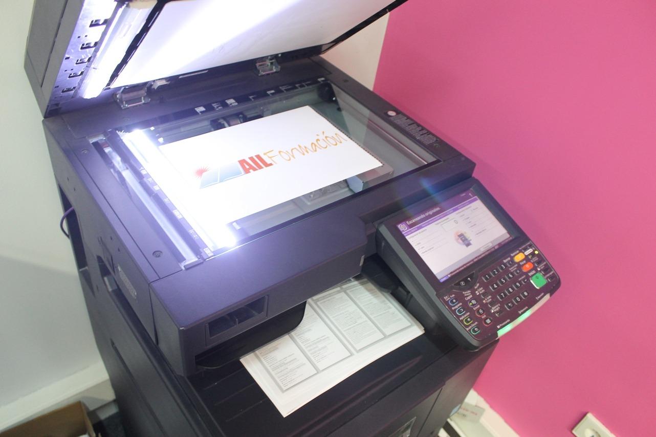 servicios de alquiler de aulas - fotocopias