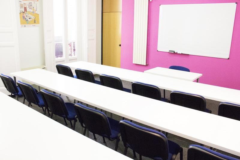 alquiler de aulas de formación - sala 1