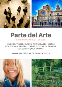 curso de arte en madrid - folleto