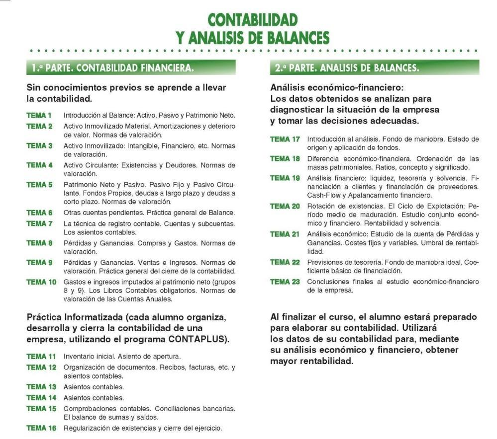 curso de contabilidad y analisis de balances