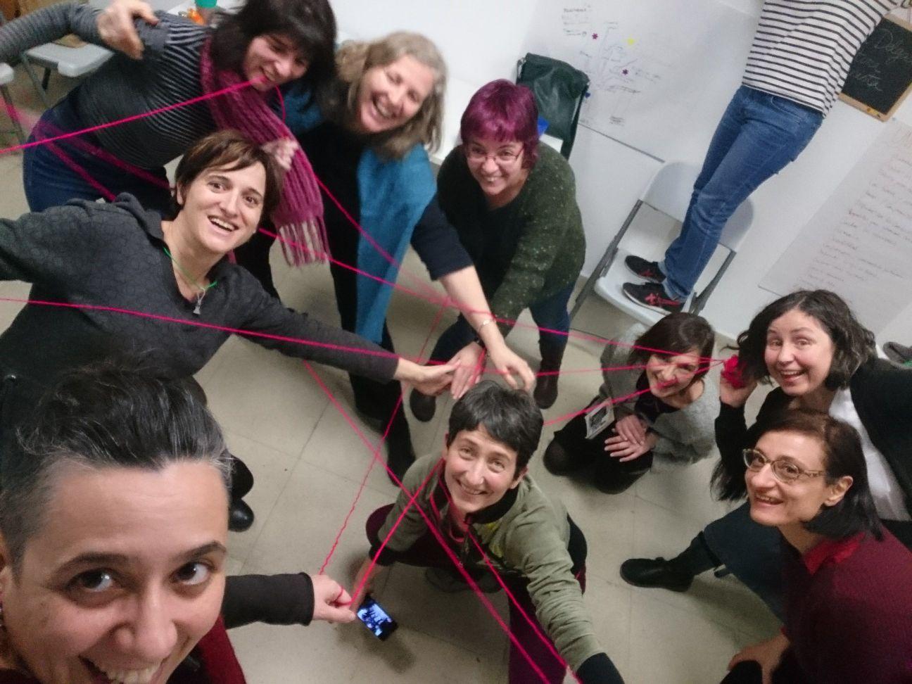 taller de desarrollo personal en madrid - foto de grupo